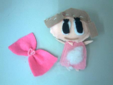 女兒縫製的娃娃