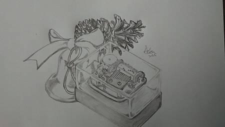 20151019音樂盒插畫