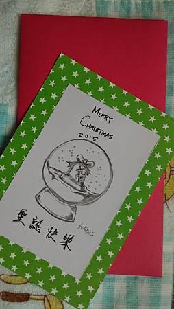 20151218聖誕卡寄