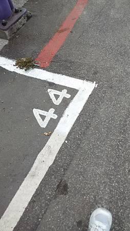20140905路上停車格