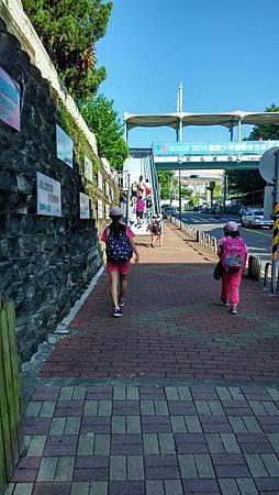 20160617小學最後一天的上學背景