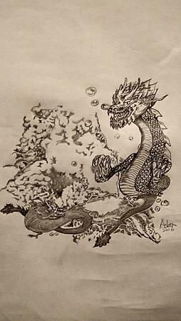 20160913海底火山與龍