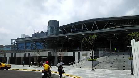 20171003基隆新火車站正面
