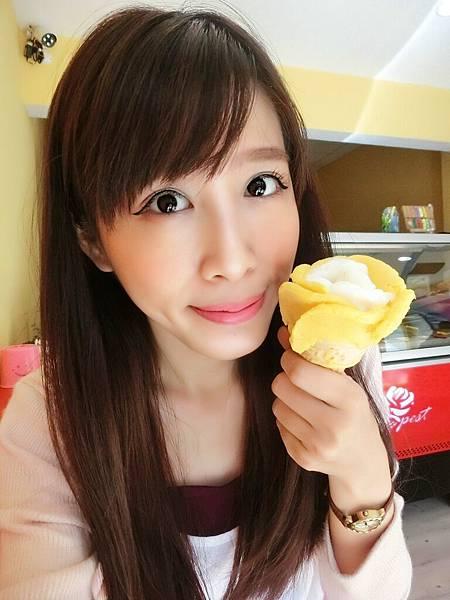 大雅好吃的玫瑰花冰淇淋