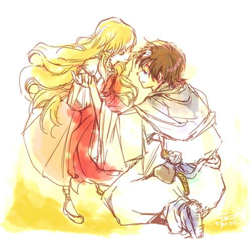 還是那尾少女與巫師