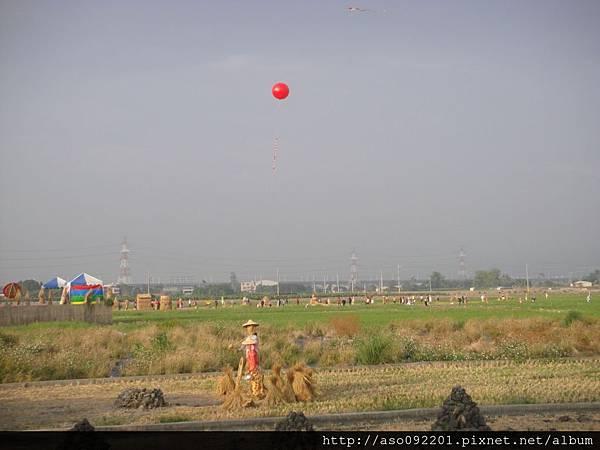 2015120824活動會場的熱氣球