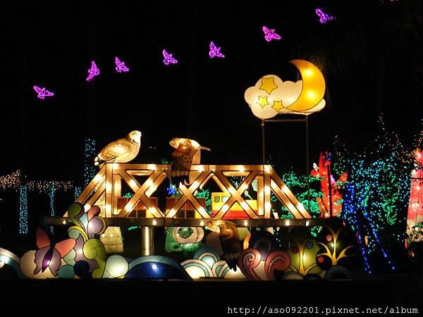 3194虎尾鐵橋夜景