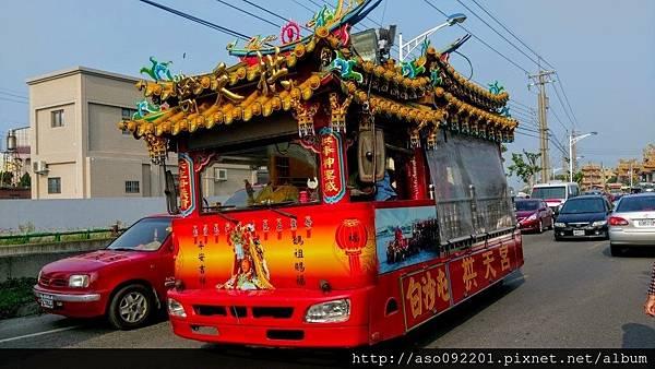 2016110606白沙屯媽遶境車輛