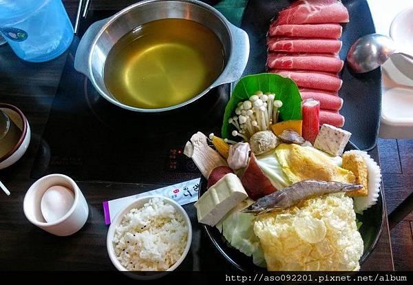 2016121410梅花豬肉鍋