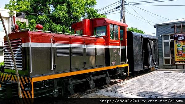 2016121802園區停車場附近的小火車