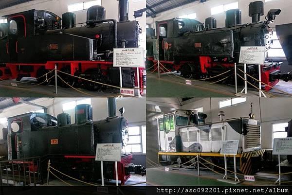 2016121824展示館內的蒸汽火車