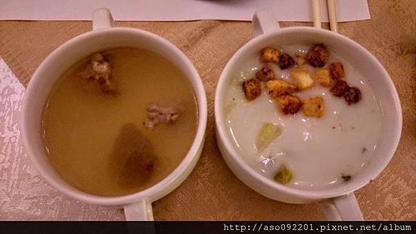 2016121919苦瓜排骨湯與玉米濃湯