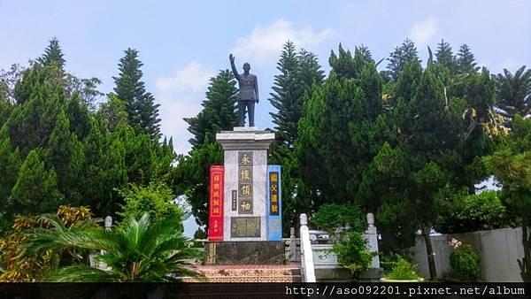 2016122417大道內的蔣公銅像