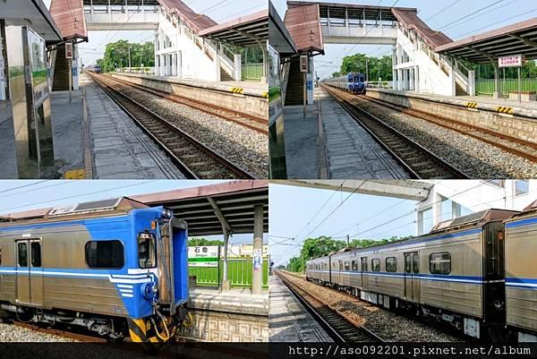 2016122522電車停靠石龜車站