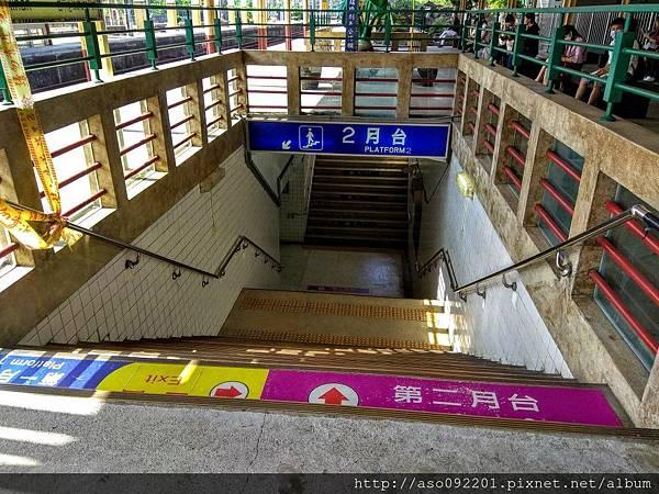 2017052522第一月台地下道出入口