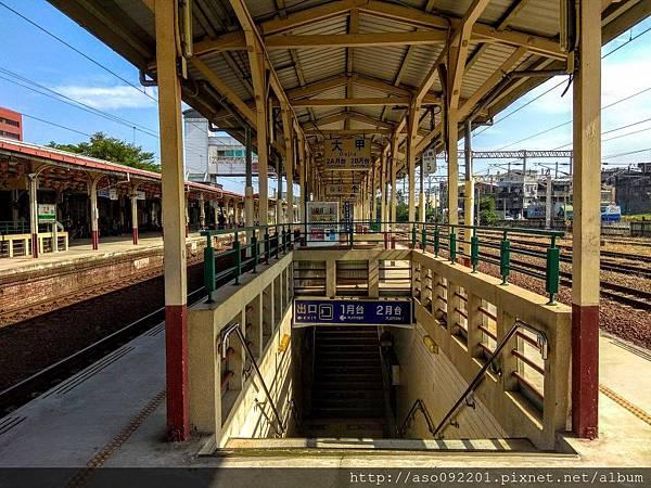 2017052523第二月台地下道出入口