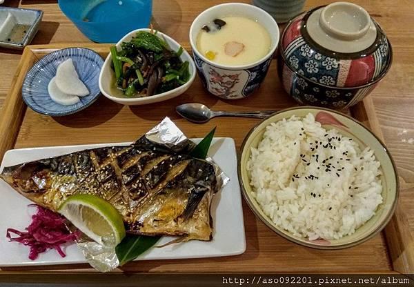 2017070914鯖魚幽庵燒定食