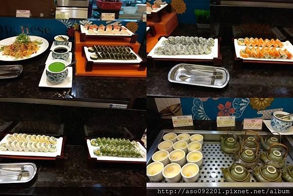 2018021045各式壽司與茶碗蒸