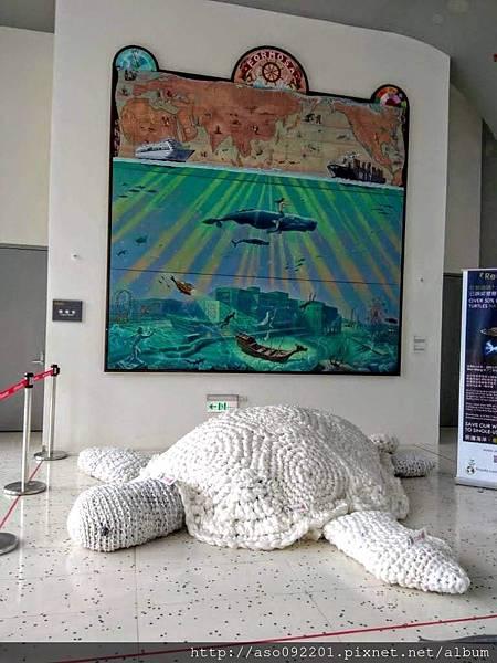 2018030124麻繩結成海龜