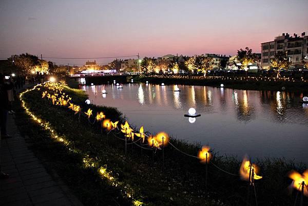 月津港燈節2