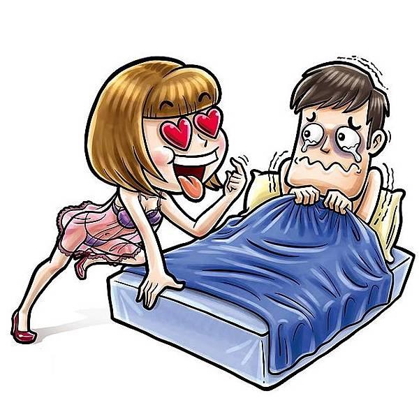 長期被老婆強迫繳械的痛苦性行為