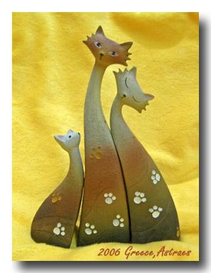 希臘貓咪三隻組