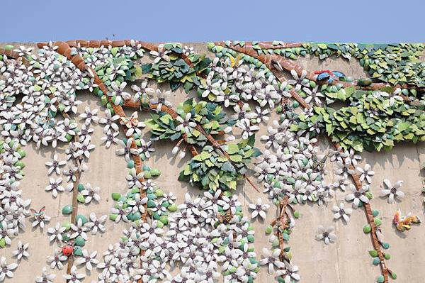 苦苓樹壁畫
