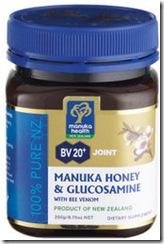 蜜鈕康蜂蜜和葡萄糖胺 500