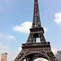 巴黎鐵塔.凱旋門.四大洲噴泉1.JPG