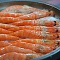 鹽烤白蝦3