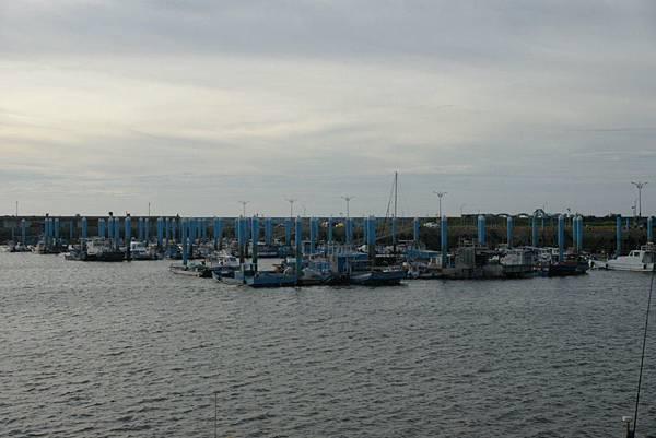 黃昏下的南寮漁港2.JPG