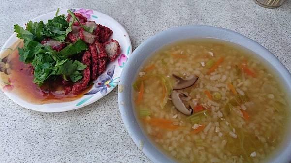 無名香菇肉粥1