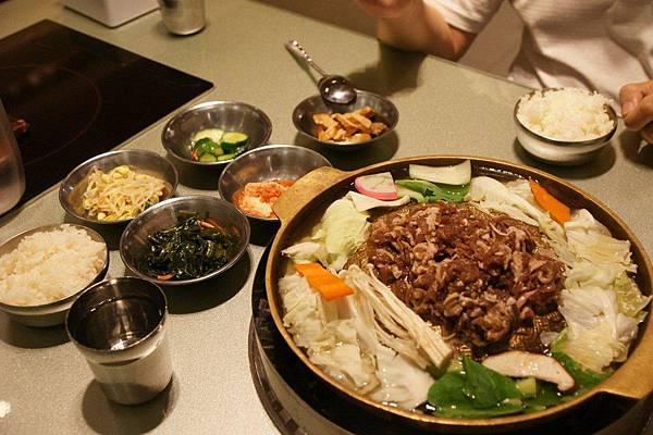 【台北】統一阪急@好吃的韓國料理可瑞安2