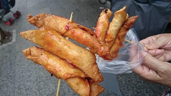 叫我小虎媽【食】【新北市淡水】小吃@阿香蝦捲3