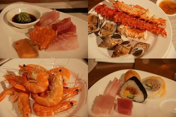 海鮮、生魚片