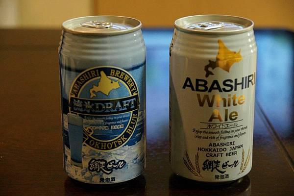 地區限定網走啤酒@ Okhotsk Blue Ryuhyo Draft & abashiri white ale1