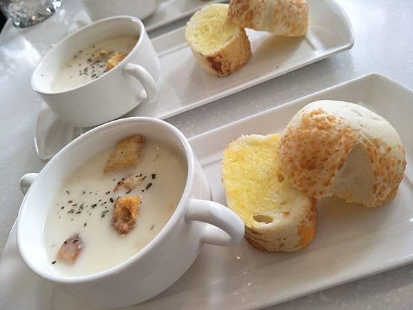 濃湯跟麵包1