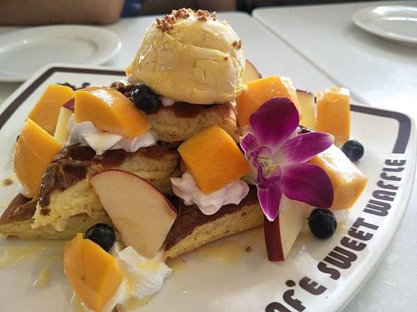 芒果鬆餅2