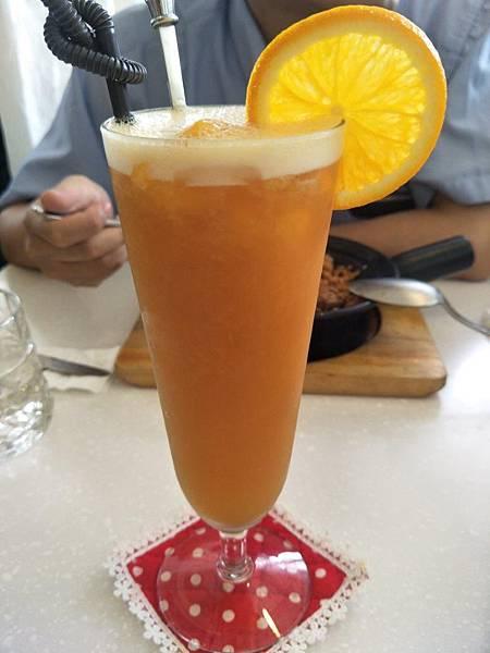 香橙芒果冰茶1