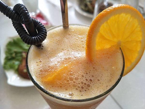 香橙芒果冰茶2