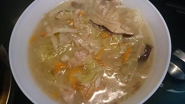 【虎媽廚房】扁魚白菜羹6