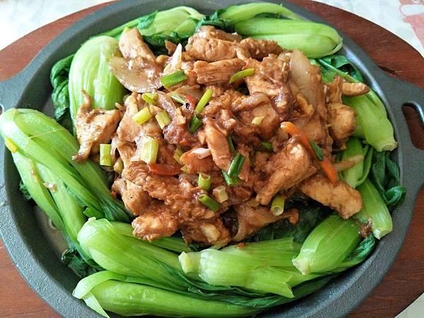 【虎媽廚房】沙茶鐵板雞胸肉1