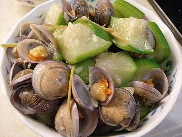 【虎媽廚房】蛤蜊絲瓜1