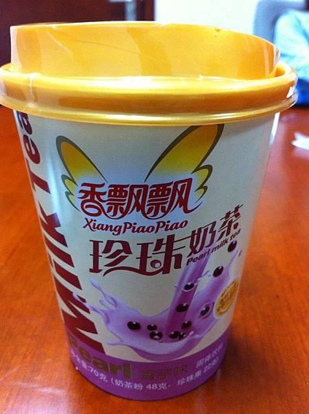 【中國】香飄飄珍珠奶茶@香芋口味1