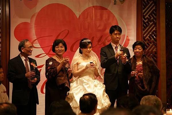 叫我小虎媽【食】【台北松山】Bryan & Peggy的婚禮@兄弟大飯店桂花廳1