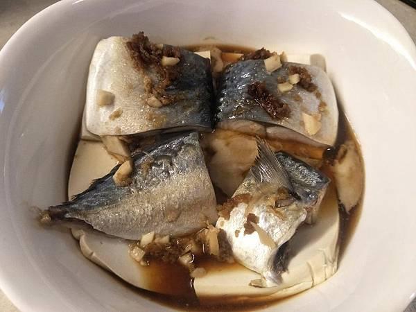 【虎媽廚房】蒸鯖魚豆腐2