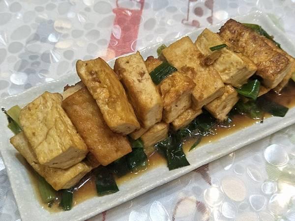 【虎媽廚房】蔥燒豆腐1