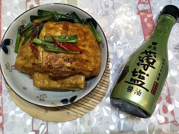 【虎媽廚房】味全薄鹽醬油@滷豆皮1