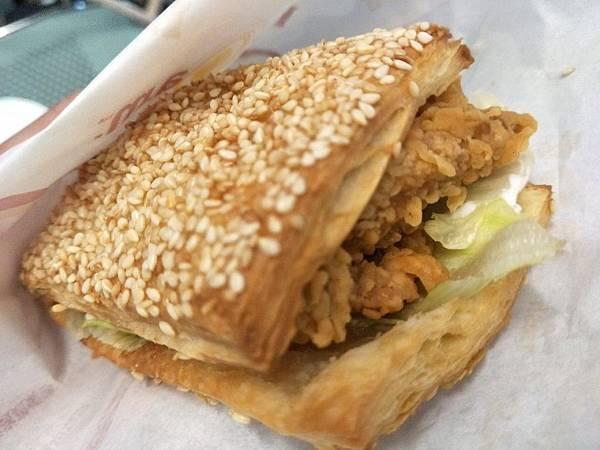 吮指嫩雞燒餅3