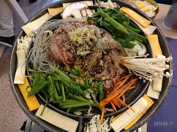 銅盤烤肉豬肉1